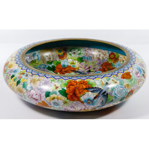 Asian Cloisonne Bowl