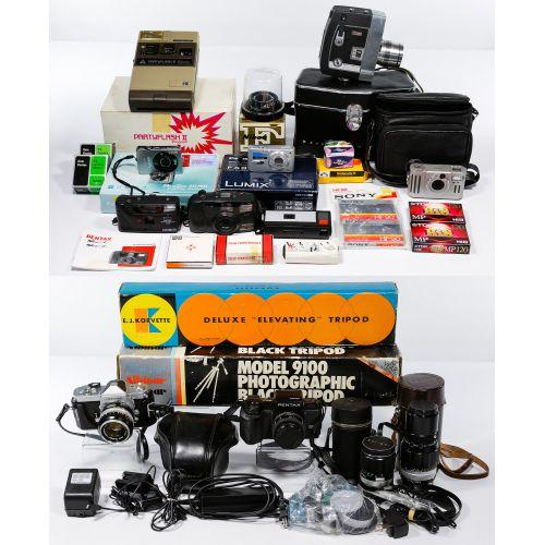 Digital, 35mm and Movie Camera Assortment