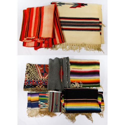 Southwestern Rug, Blanket and Textile Assortment