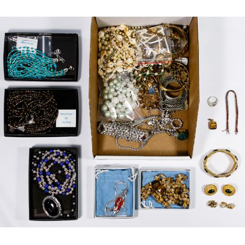 Designer, Silver and Costume Jewelry Assortment