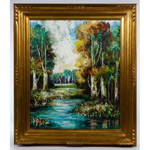 Ludwig Sohler (German, 1907-1998) Oil on Canvas
