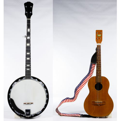 String Instrument and Accessory Assortment