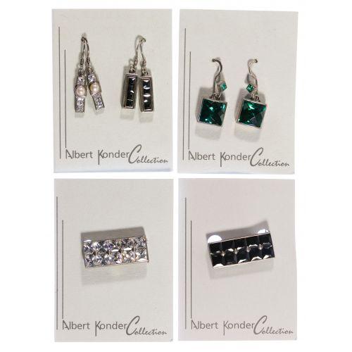 Albert Konder Sterling Silver Jewelry Assortment