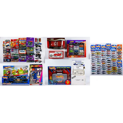"Mattel ""Hot Wheels"" Car and Die Cast Car Assortment"
