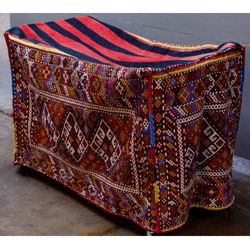 Persian Wool Trunk Cover