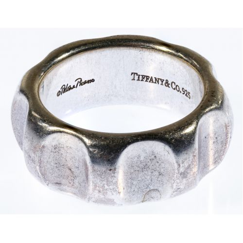 Tiffany & Co. Paloma Picasso Sterling Silver Groove Ring