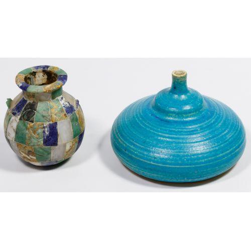 Stephen Joseph Polchert (American, 1920-2008) Pottery Vessel