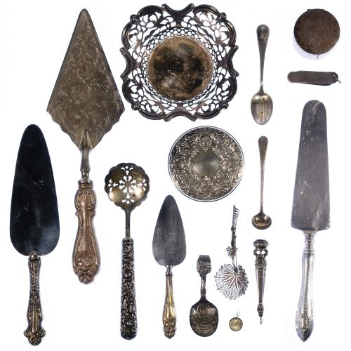 Sterling Silver and Silver Plated Assortment