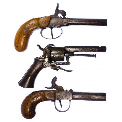 Black Powder Pistol Assortment