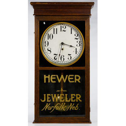 Sessions Advertising Regulator Wall Clock