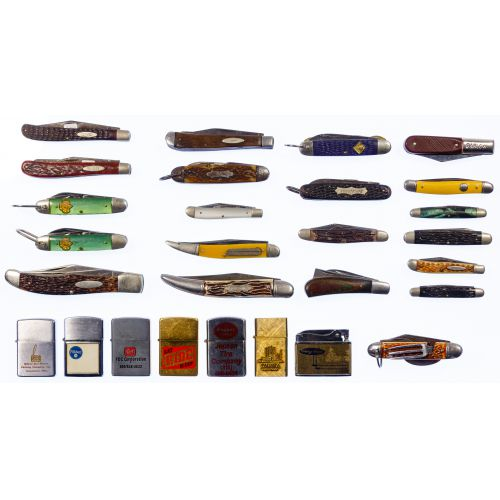 Pocket Knife and Cigarette Lighter Assortment