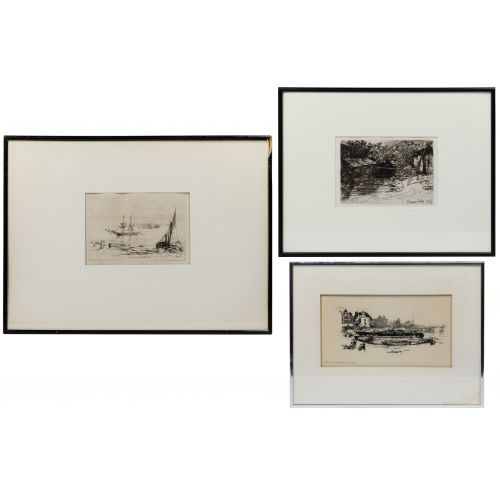 Seymour Haden (English, 1818-1910) Etching Assortment