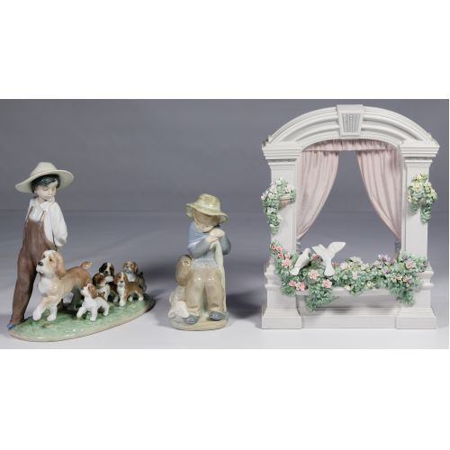 Lladro and Zaphir Figurine Assortment