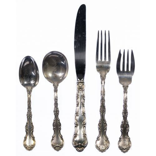 "Gorham ""Strasbourg"" Sterling Silver Flatware Assortment"