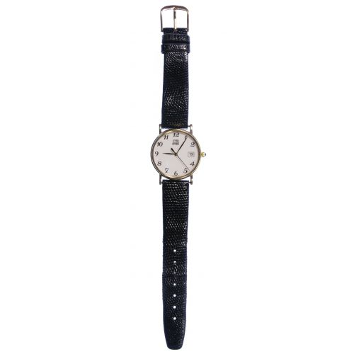 Lester Lampert 14k Gold Case Wrist Watch