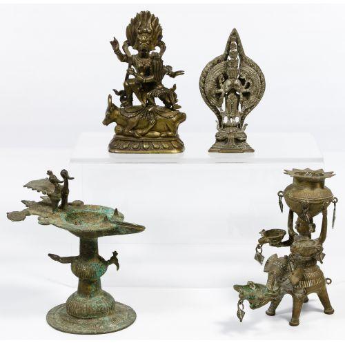 Asian Metalwork Assortment