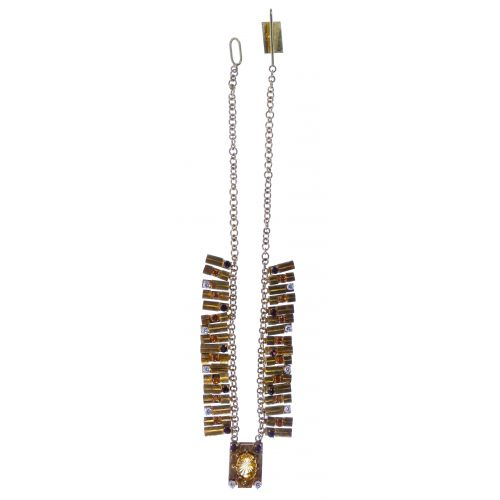 18k / 14k Gold and Gemstone Necklace