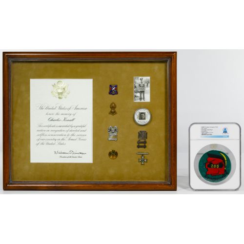 Neil Armstrong Owned 205th Geronimos Patch