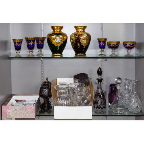 Crystal and Glass Assortment
