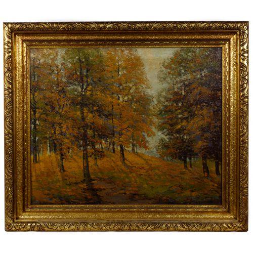 Ernest T. Fredericks (American, 1877-1959) Oil on Canvas