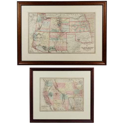 19th Century United States Engraved Maps