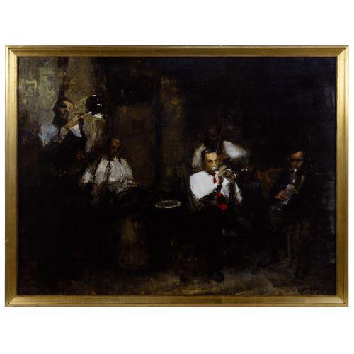 Jim Pennington (American, b.1972) Oil on Panel