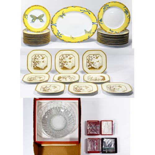 Lynn Chase and Baccarat Crystal Assortment