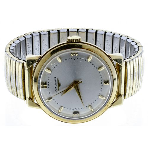 Longines 14k Gold Case Wrist Watch