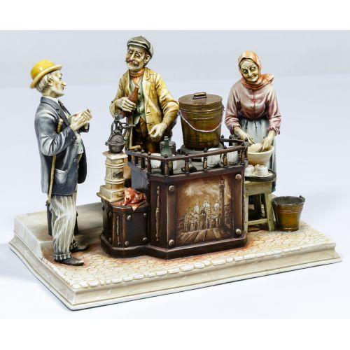 "Antonio Borsato ""Cafe Espresso"" Figurine"