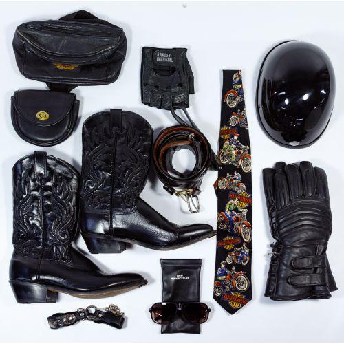 Harley-Davidson HOG Memorabilia and Leather Assortment