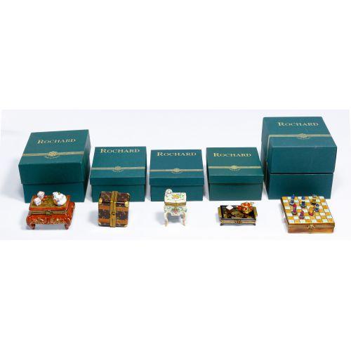 Limoges Trinket Box Assortment