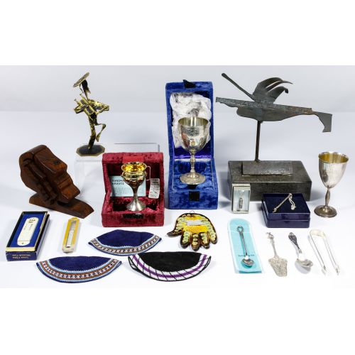 Sterling Silver and Decorative Judaica Assortment
