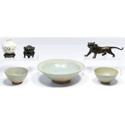 Asian Pottery Assortment