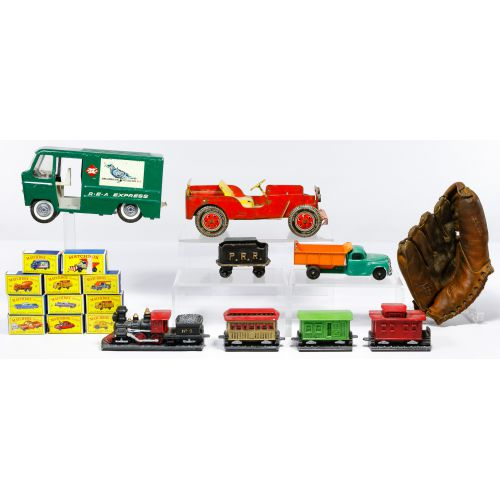 Toy and Banner Assortment