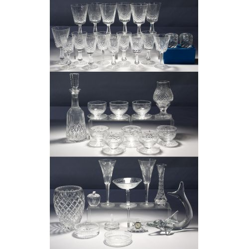Waterford, St. Louis and Daum Crystal Assortment