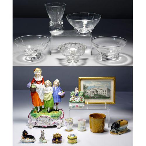 Steuben Glass and Miscellaneous Assortment