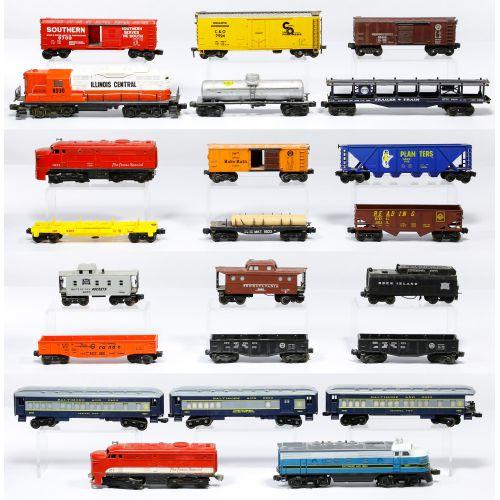 "Lionel Model ""O"" Gauge Train Assortment"