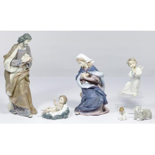 Lladro Nativity Figurine Assortment