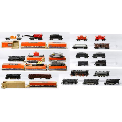 "Lionel Model ""O"" Gauge Train Assortment"