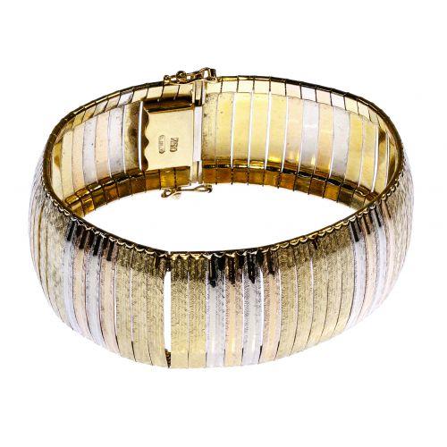 18k Multi-Color Gold Bracelet