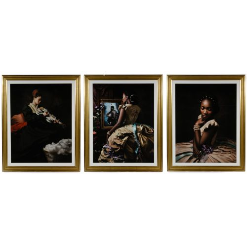 "Fabiola Jean-Louis (Haitian / American, b.1978) ""Rewriting History"" Series Pigment Prints"