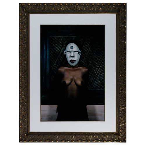"Leonce Raphael Agbodjelou (Beninese, b.1965) ""Demoiselles de Porto-Novo"" Series C-Print"