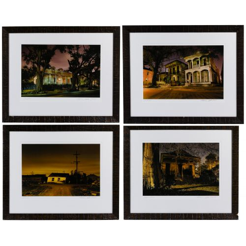 "Frank Relle (American, b.1976) ""Nightscapes"" Series Photographs"