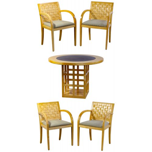 Geiger Table and Chair Set
