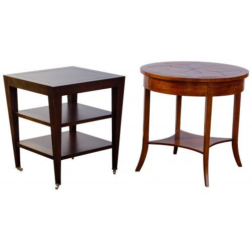 Niermann Weeks and Donghia Tables