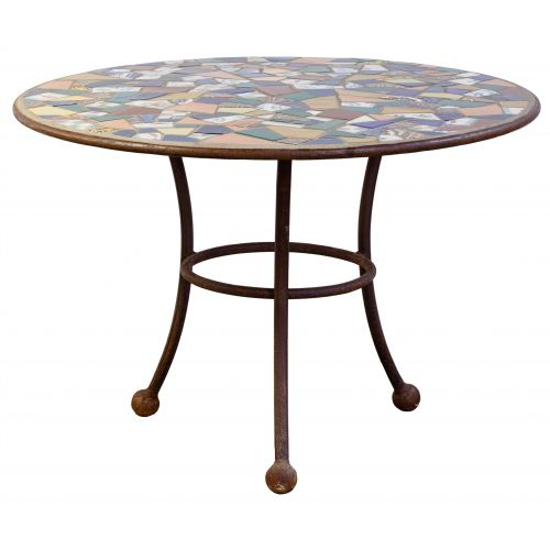 Mosaic Patio Bistro Table