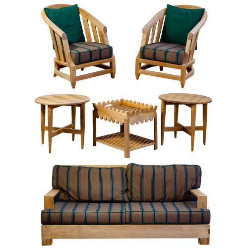 Sutherland Teak Patio Furniture Assortment