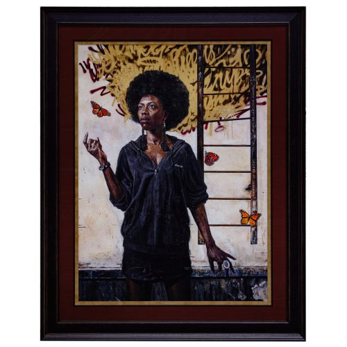 """Tim Okamura (Canadian, b.1968) """"The Ascension"""" Giclee Reproduction Print on Paper"""