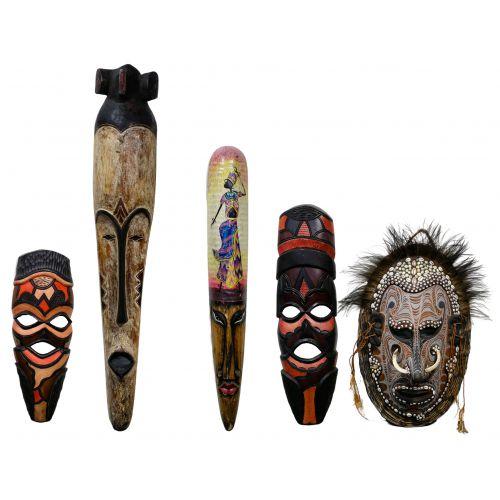Multi-Cultural Mask Assortment