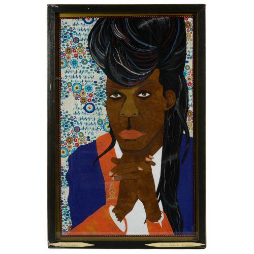"Chris Roberts-Antieau (American, b.1950) ""Big Freedia"" Tapestry"